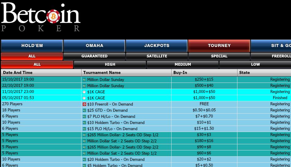 betcoin.ag poker