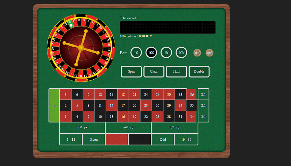 crypto games roulette