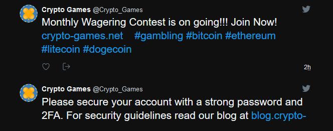 Crypto Games Social