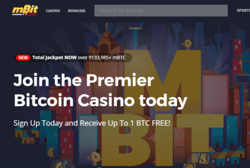 mbitcasino bitcoin casino gambling offers