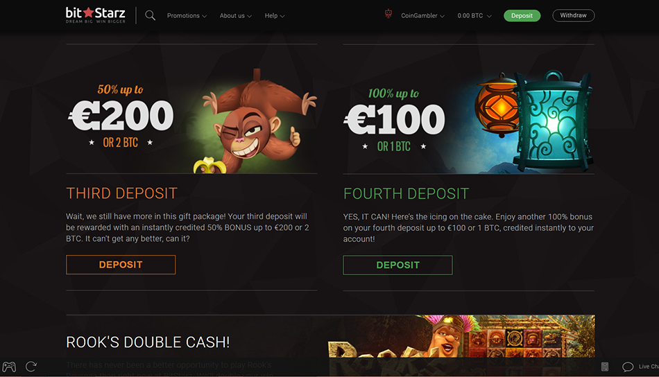 bitstarz free deposit bonuses