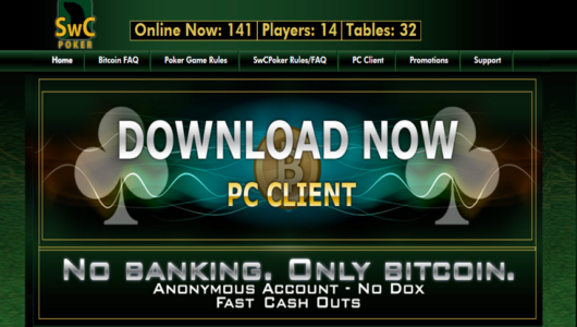 Seals with Clubs Bitcoin Poker