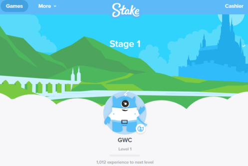 stake homepage