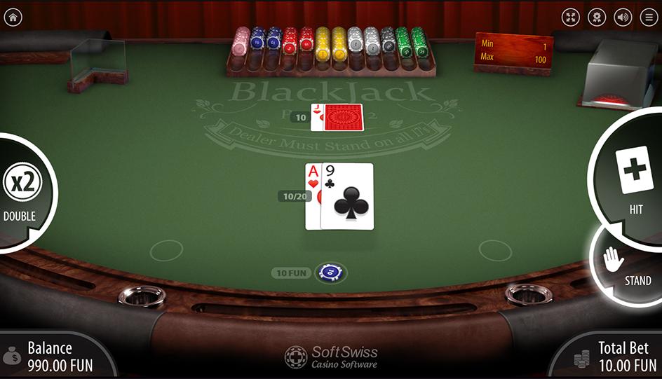 blackjack original cards