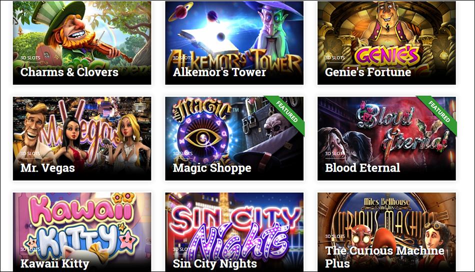 betcoin casino variety