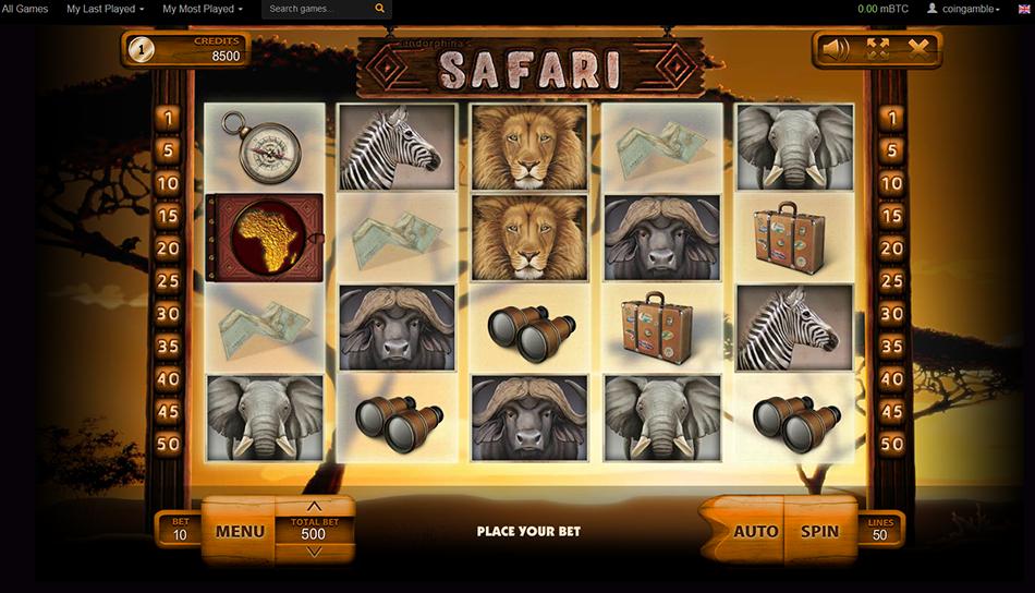 oshi safari slots