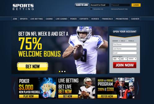 sportsbetting ag homepage